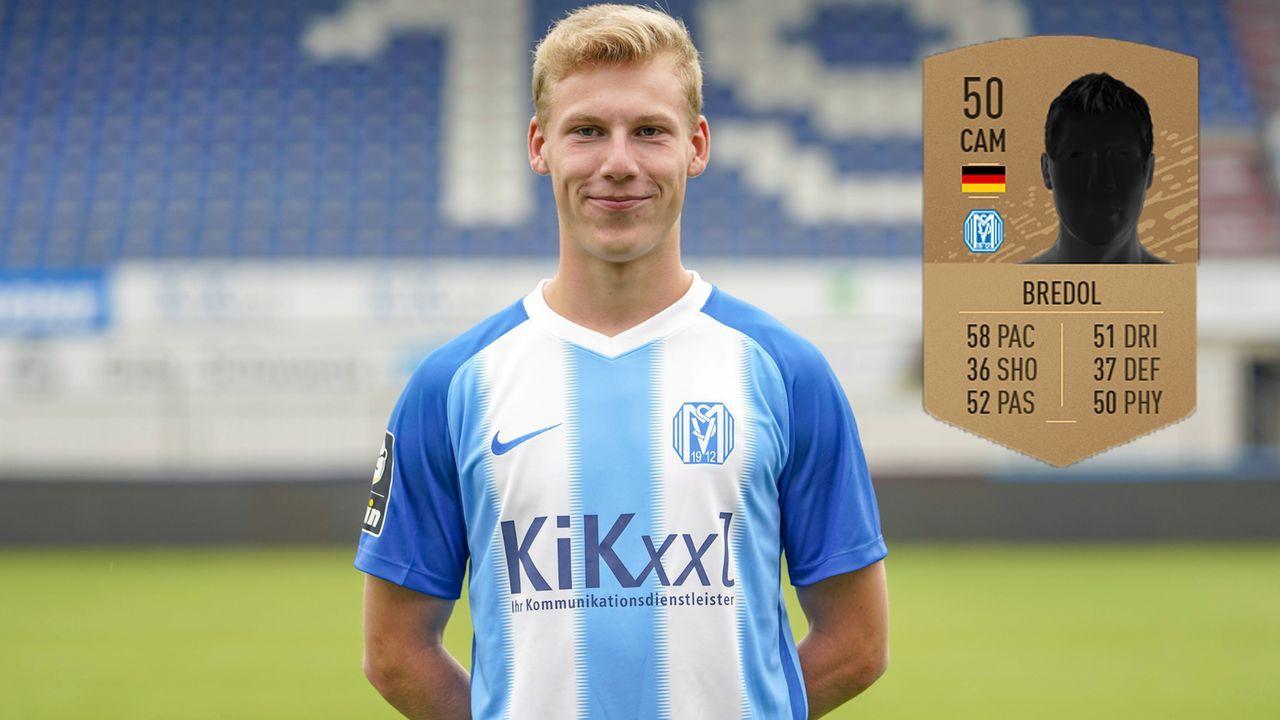 Leonard Bredol (SV Meppen) - Bildquelle: imago images / Werner Scholz