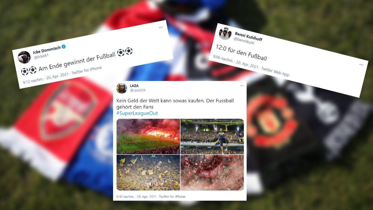 Der Fußball hat gesiegt - Bildquelle: Imago
