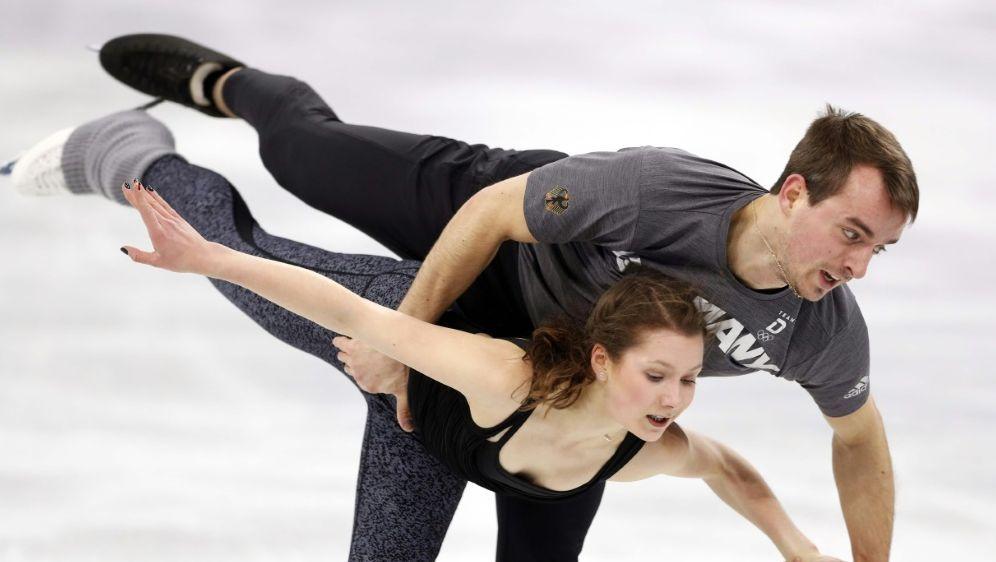 Annika Hocke und Ruben Blommaert fehlen bei NHK Trophy - Bildquelle: PIXATHLONPIXATHLONSIDJOHN SIBLEY