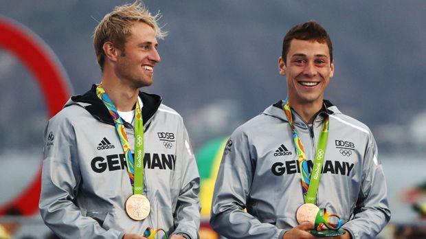 Erik Heil und Thomas Plößel (Segeln) - Bildquelle: 2016 Getty Images