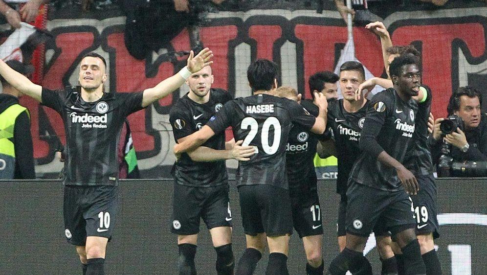 Eintracht Frankfurt trifft am Ostermontag auf Wolfsburg - Bildquelle: AFPSIDDANIEL ROLAND