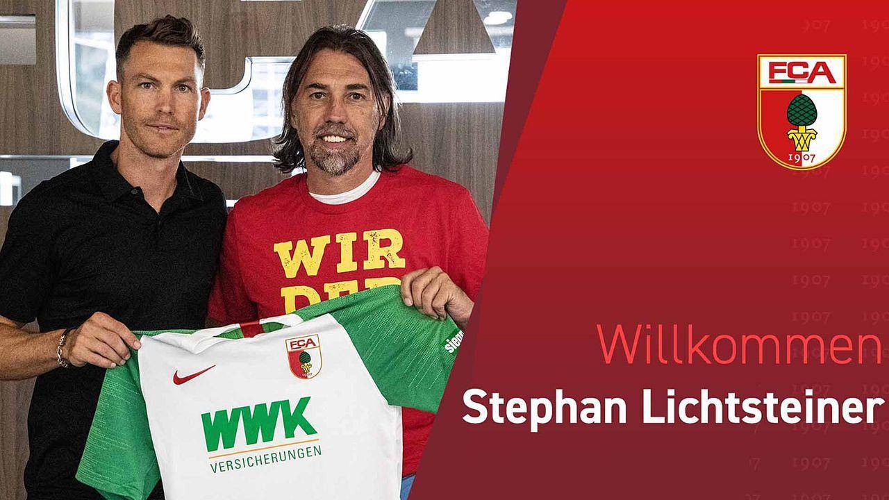 Stephan Lichtsteiner (FC Augsburg) - Bildquelle: twitter@FCAugsburg
