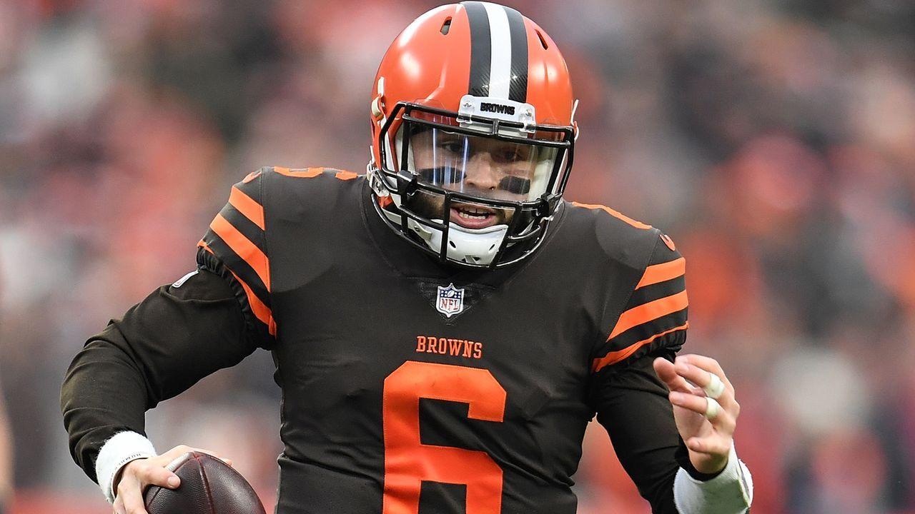 Baker Mayfield (Cleveland Browns, 2018) - Bildquelle: 2018 Getty Images
