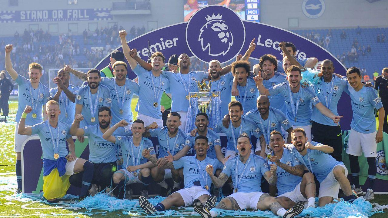 Topf 1: Manchester City - Bildquelle: imago images / MB Media Solutions