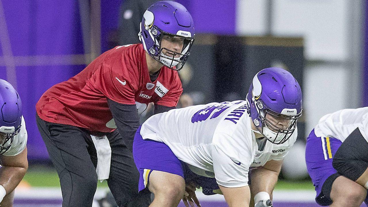 Garrett Bradbury (Center, Minnesota Vikings) - Bildquelle: imago