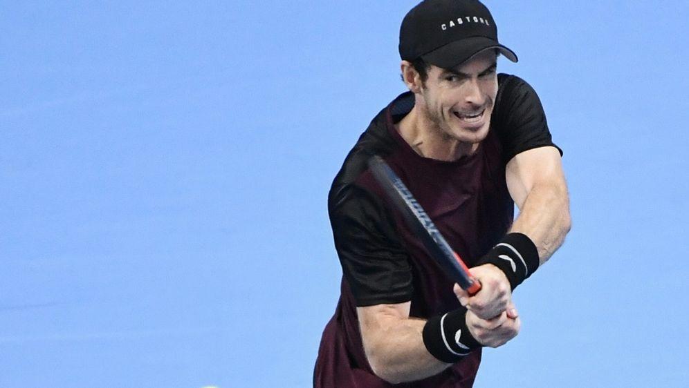 Nach starkem Comeback in Runde zwei: Andy Murray - Bildquelle: AFPSIDJOHN THYS