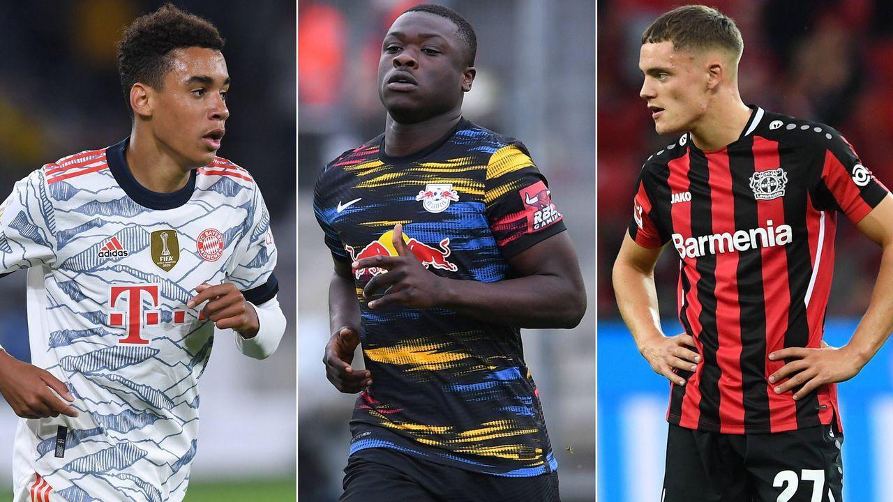 Golden Boy 2021: Diese Bundesliga-Stars sind unter den verbliebenen 60 Nominierten - Bildquelle: Getty Images/Imago