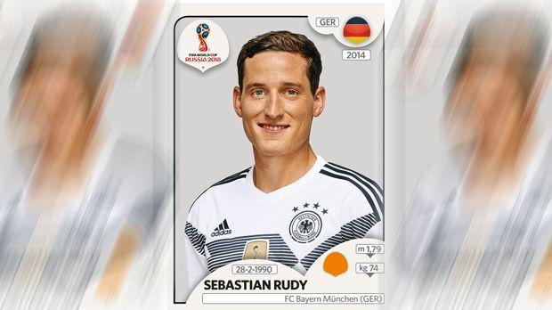 Sebastian Rudy (FC Bayern München) - Bildquelle: Panini