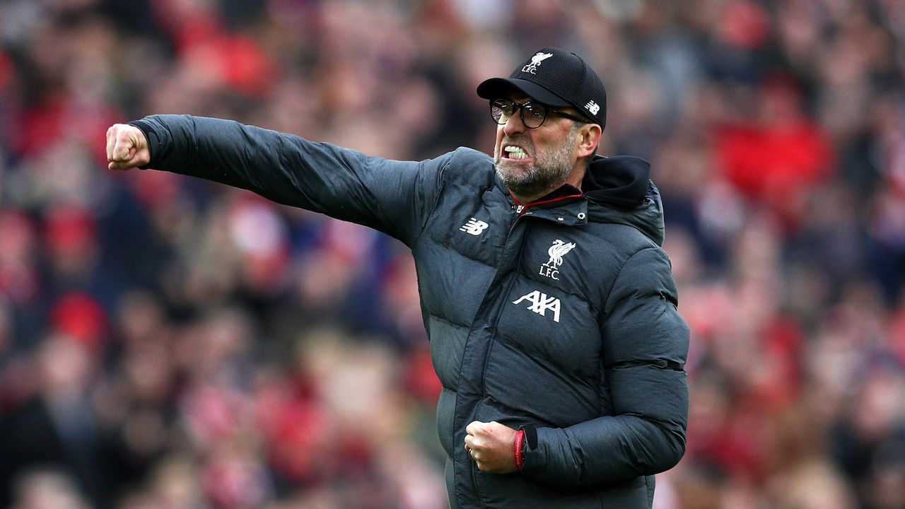Platz 4: Jürgen Klopp - Bildquelle: 2020 Getty Images