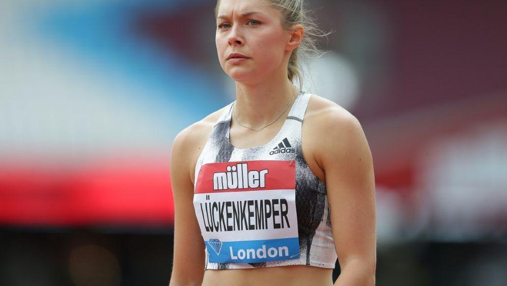 Sprach sich für Sportlerrente aus: Gina Lückenkemper - Bildquelle: PIXATHLONPIXATHLONSID
