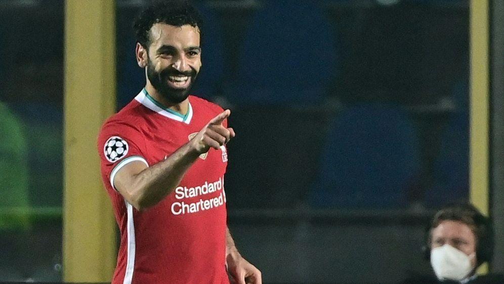 Salah kann nach seiner Corona-Infektion wieder spielen - Bildquelle: AFPSIDMIGUEL MEDINA