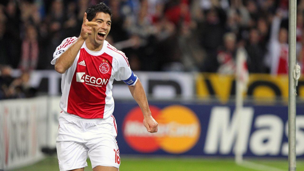 Luis Suarez (Ajax Amsterdam) - Bildquelle: imago sportfotodienst