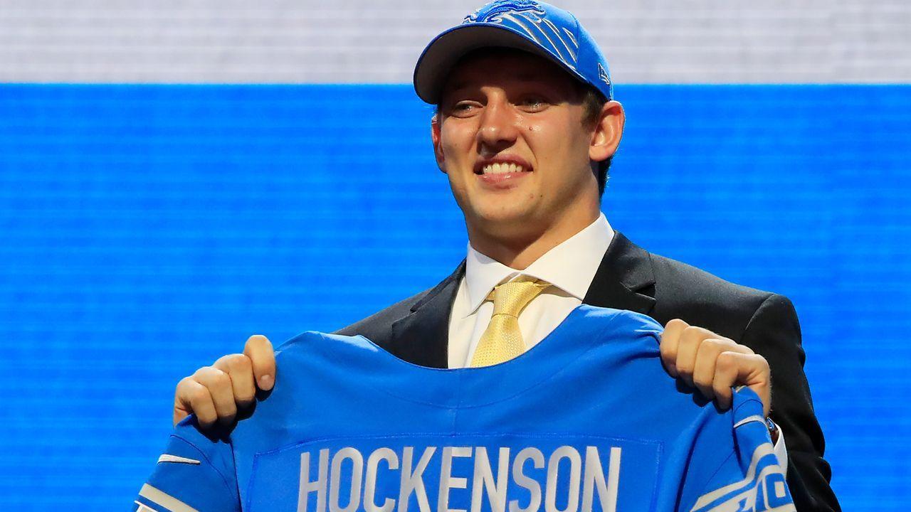 8. Pick - Detroit Lions: TE T.J. Hockenson (Iowa) - Bildquelle: 2019 Getty Images