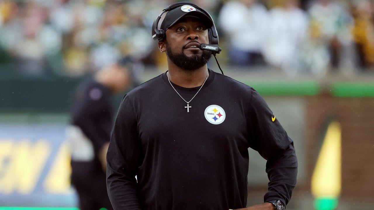 Mike Tomlin (Head Coach Pittsburgh Steelers) - Bildquelle: Getty