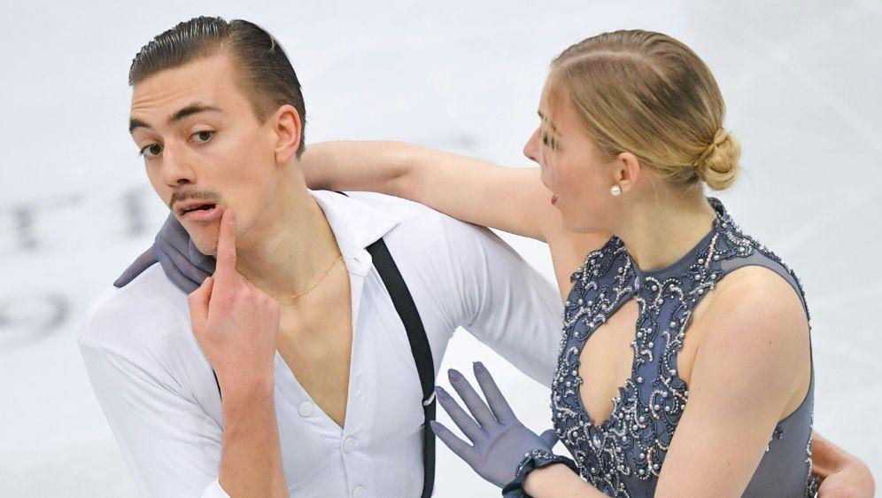 Christian Nüchtern und Shari Koch erreichen Kürfinale - Bildquelle: SputnikSputnikSID