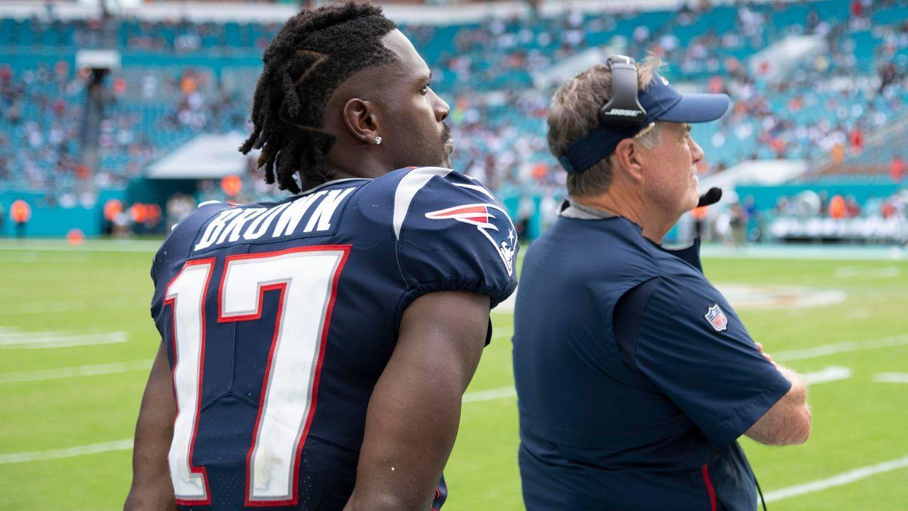 Antonio Brown (New England Patriots) - Bildquelle: imago images / Icon SMI