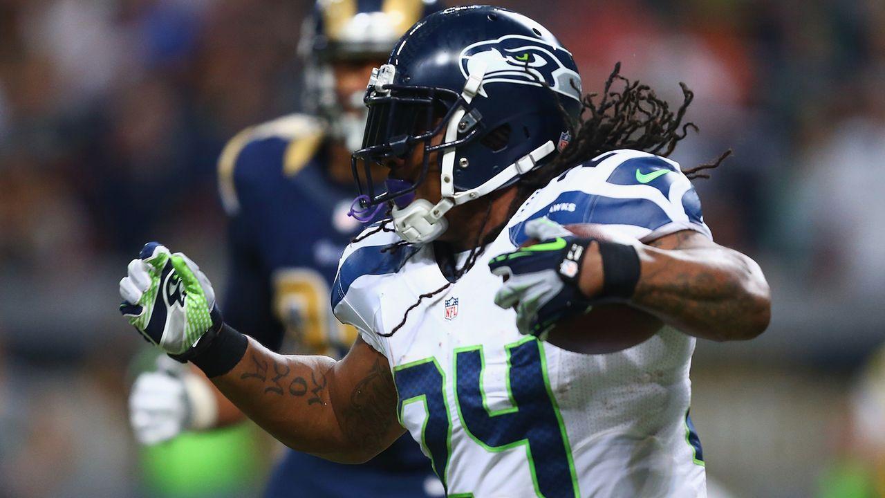 Marshawn Lynch (Seattle Seahawks) - Bildquelle: 2015 Getty Images