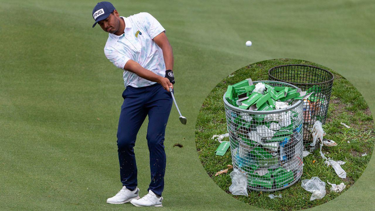 Golf-Profi schlägt Hole-in-One in den Mülleimer - Bildquelle: imago images/Icon SMI