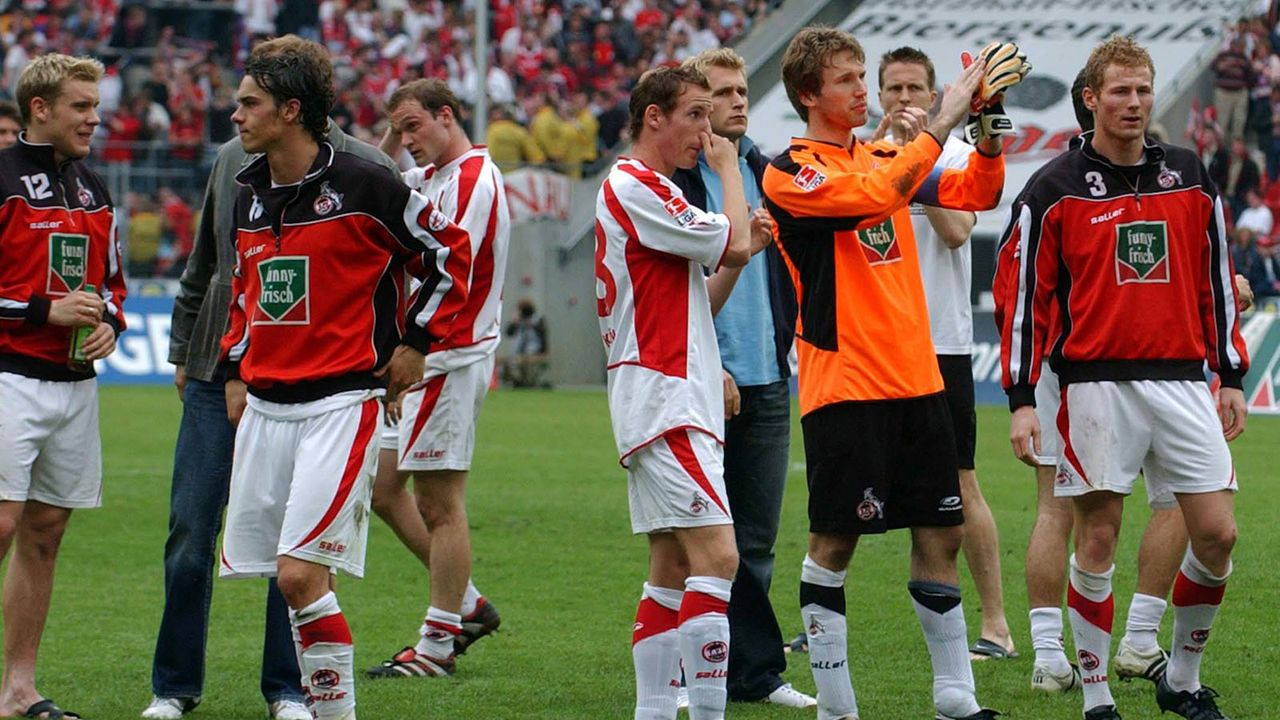 3. Abstieg: 2004