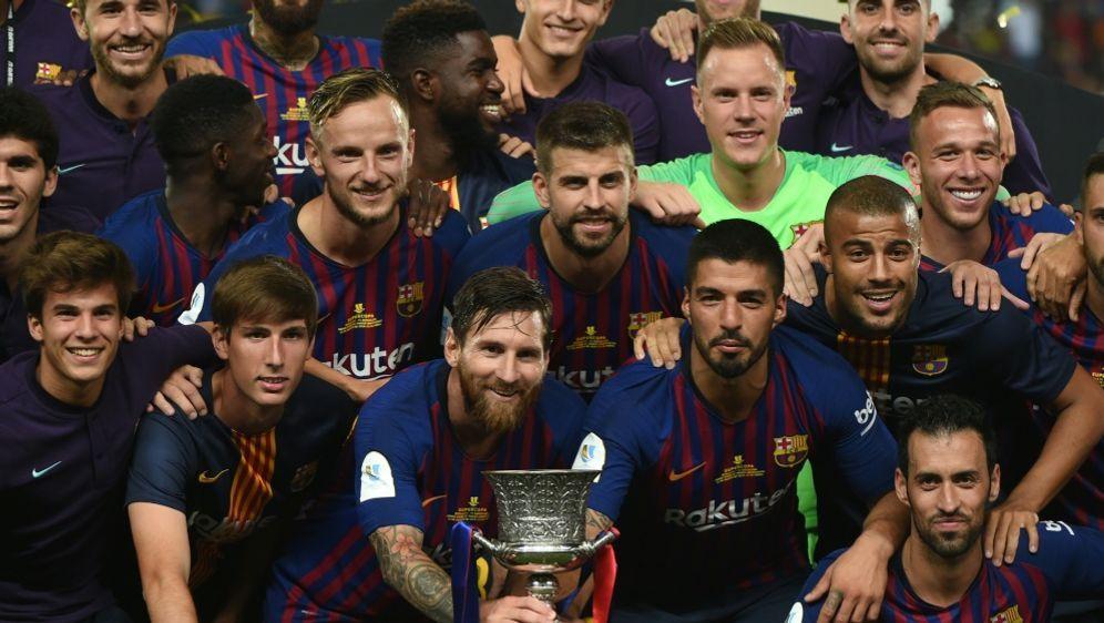 Spaniens Supercup wird in Saudi-Arabien ausgetragen - Bildquelle: AFPSIDFADEL SENNA
