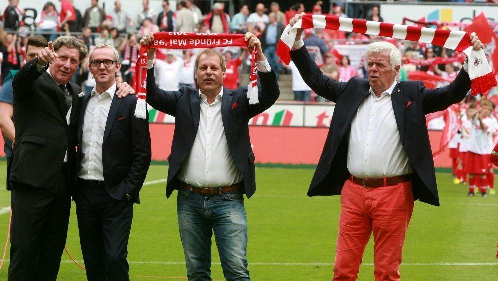 Schumacher und Ritterbach (2. v. r.) kandidieren nicht - Bildquelle: FIROFIROSID
