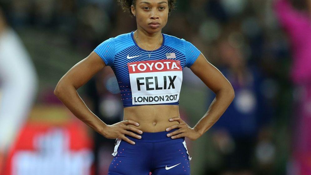 Sprint-Star Allyson Felix kritisiert Nike - Bildquelle: PIXATHLONPIXATHLONSID