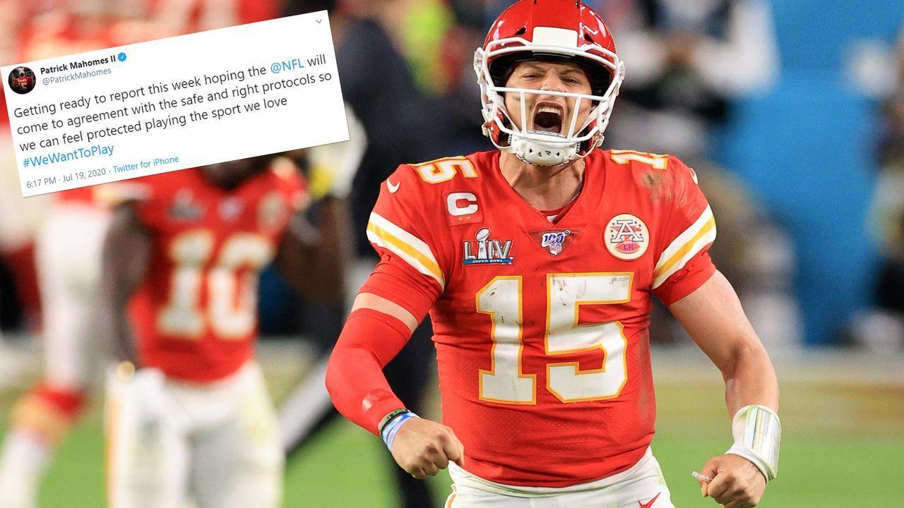Patrick Mahomes (Kansas City Chiefs) - Bildquelle: 2020 Getty Images