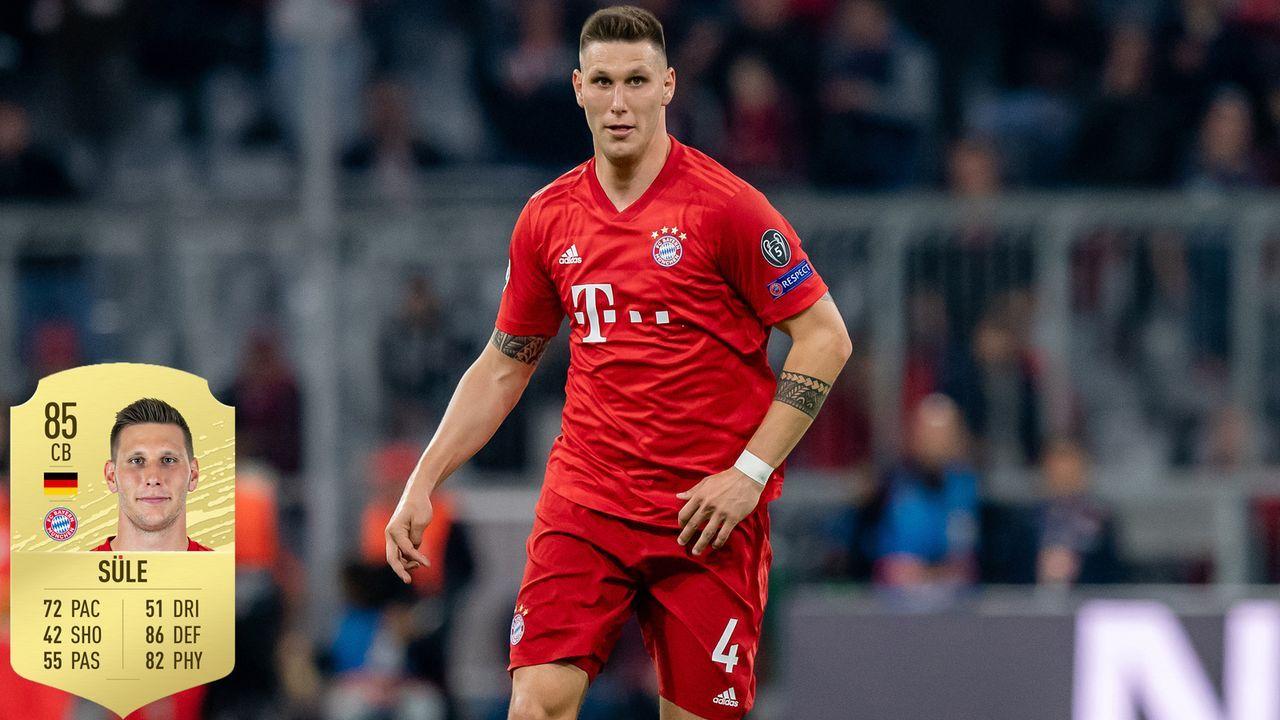 Platz 5: Niklas Süle - FC Bayern München - Bildquelle: imago / ea.com