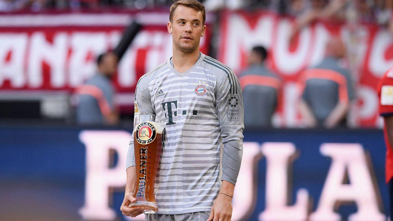 Platz 5: Manuel Neuer (FC Bayern München) - Bildquelle: Imago Images