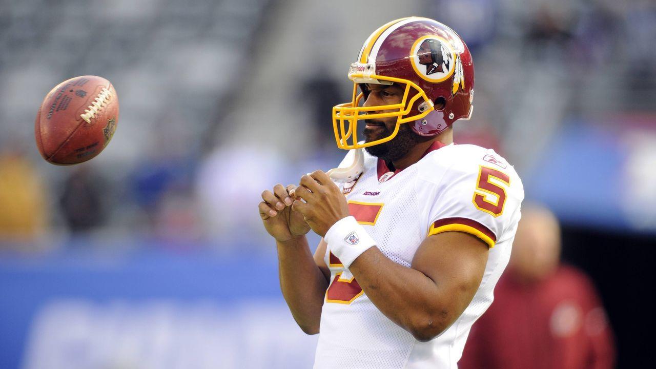 2010: Donovan McNabb (Washington Redskins) - Bildquelle: imago
