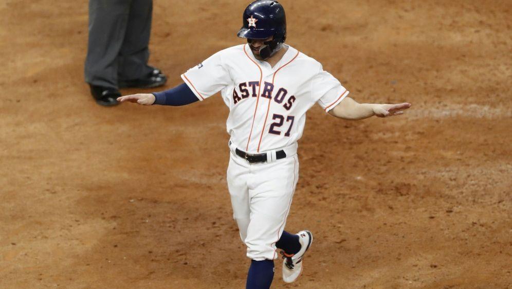 Altuve sorgte für den Sieg der Astros - Bildquelle: GETTY AFPSIDTim Warner