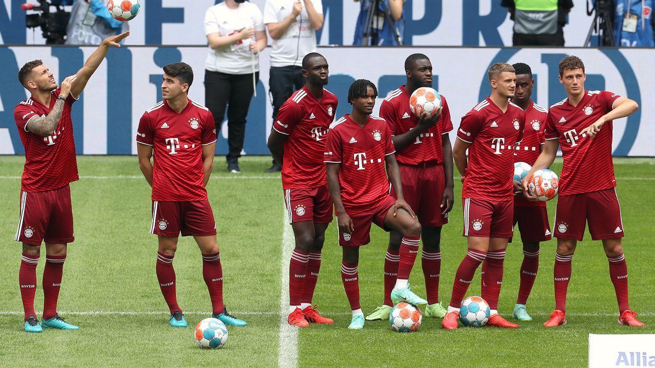 Platz 13 - FC Bayern München (Deutschland) - Bildquelle: 2021 Getty Images