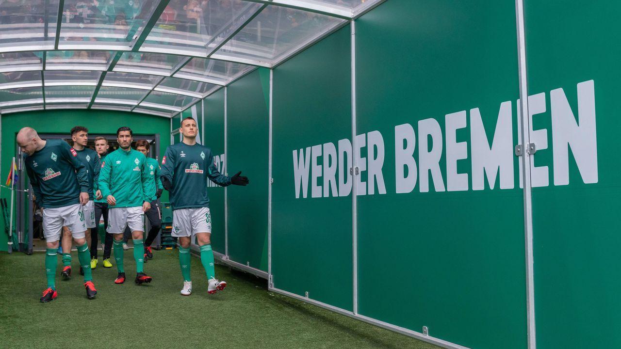 Platz 10 (geteilt): SV Werder Bremen - Bildquelle: imago images/Nordphoto