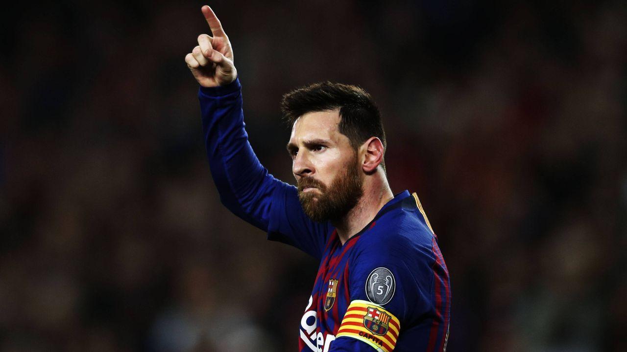 Platz 1: Lionel Messi (FC Barcelona) - Bildquelle: getty