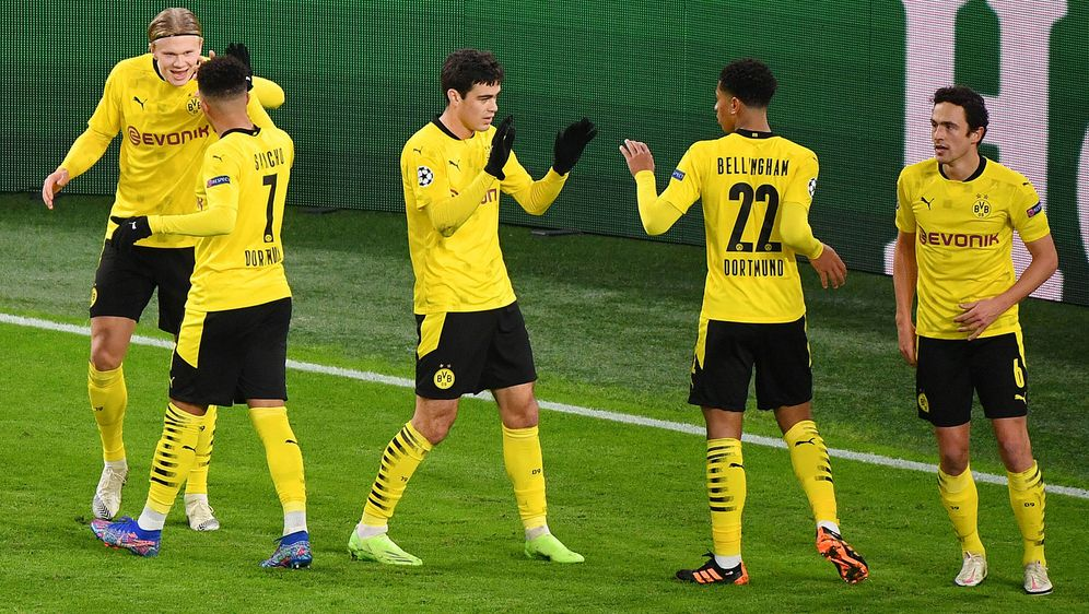 Haaland und Sancho treffen - 2:0 zur Pause! - Bildquelle: Imago Images