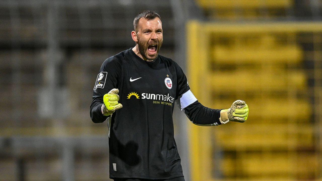 1. Platz: FC Hansa Rostock (61 Punkte) - Bildquelle: Imago Images
