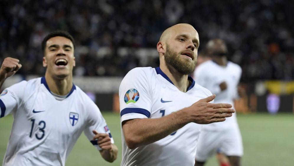 Teemu Pukki löst mit Finnland das Ticket für die EM 2020 - Bildquelle: AFPAFPMarkku Ulander