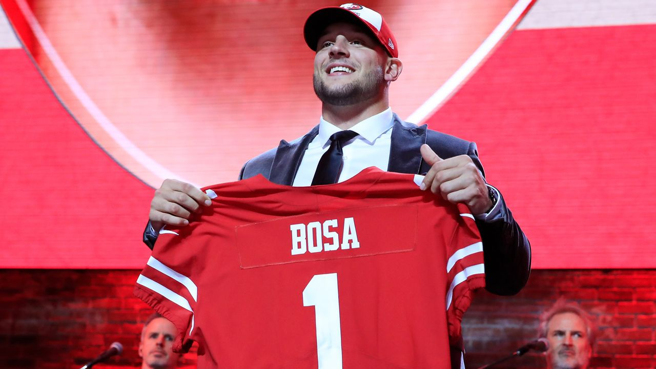 Draft Pick 2: San Francisco 49ers - Bildquelle: 2018 Getty Images