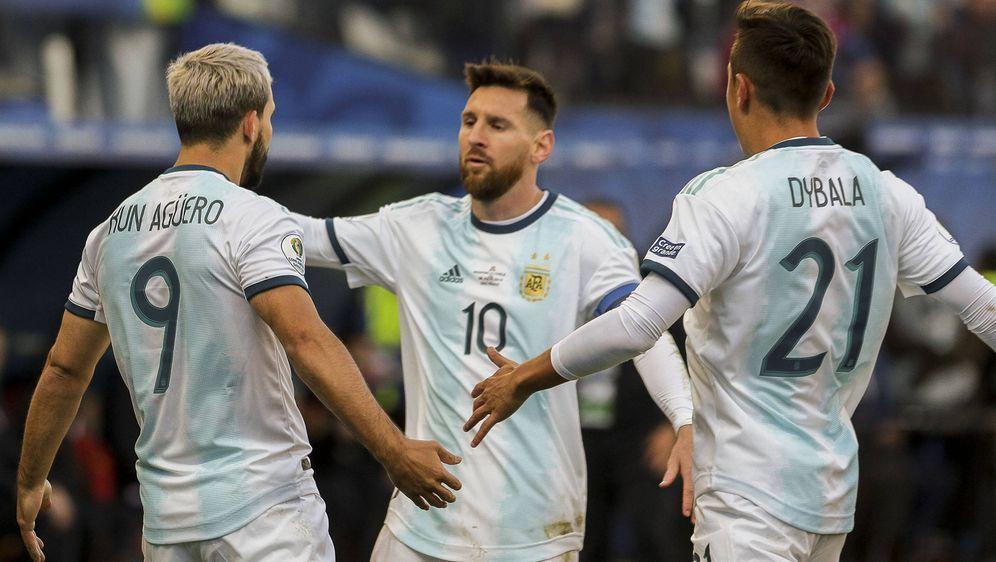 Lionel Messi führte Argentinien zum Comeback-Sieg. - Bildquelle: imago