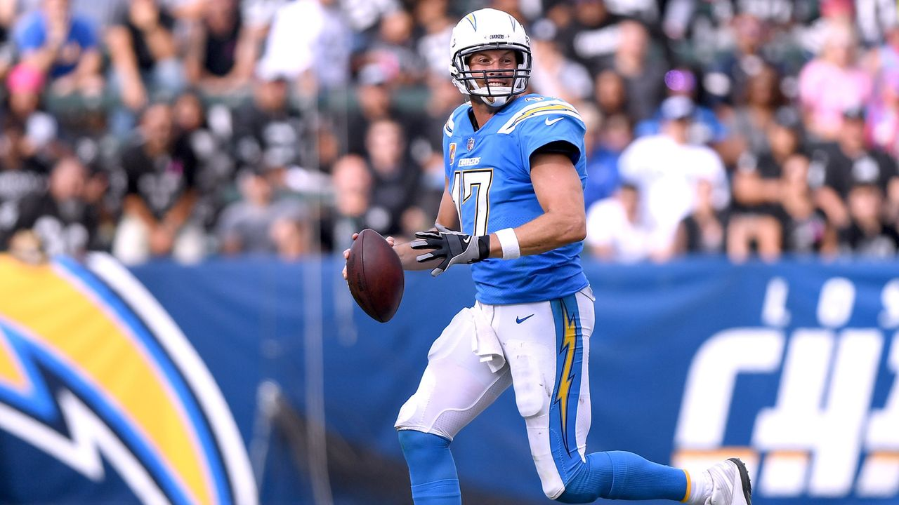 Philip Rivers (Los Angeles Chargers, Quarterback) - Bildquelle: 2018 Getty Images