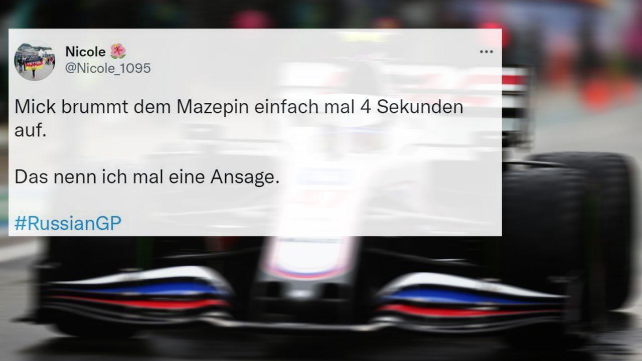 Mick Schumacher >>> Nikita Mazepin - Bildquelle: 2021 Getty Images