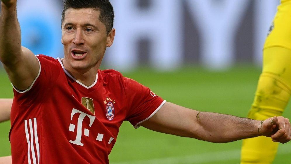 Robert Lewandowski könnte den Müller-Rekord knacken - Bildquelle: AFPPOOLSIDCHRISTOF STACHE