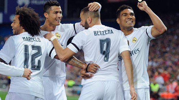Real Madrid - Bildquelle: 2015 Getty Images