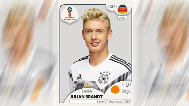 Julian Brandt (Bayer Leverkusen) - Bildquelle: Panini