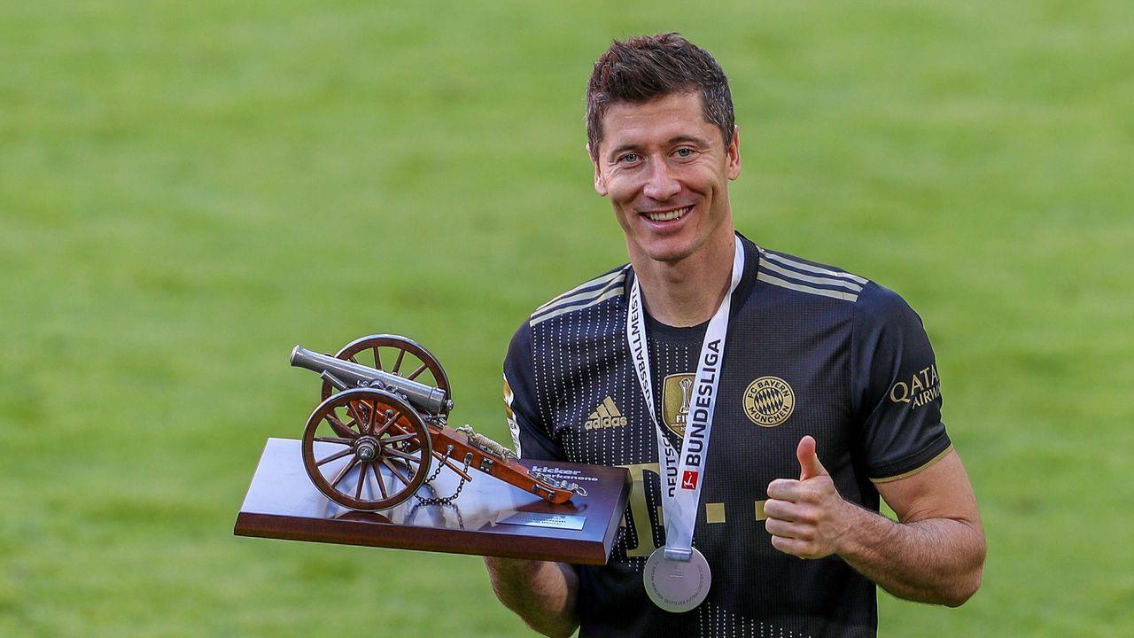 Platz 1: Robert Lewandowski (FC Bayern München) - Bildquelle: Christian Kolbert/kolbert-press/Pool via Ulrich Hufnagel / Hufnagel PR