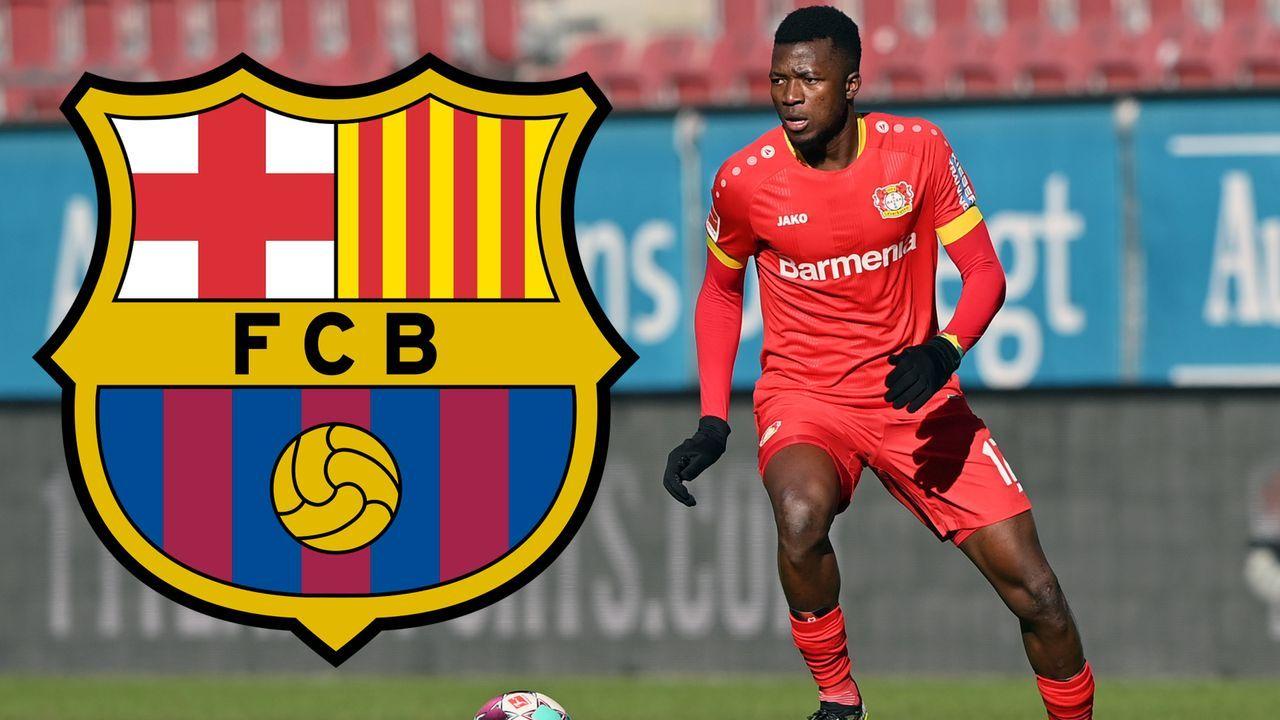Edmond Tapsoba (Bayer Leverkusen) - Bildquelle: 2021 Getty Images