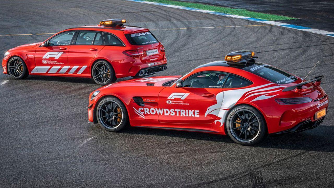 Safety Car Mercedes - Bildquelle: twitter.com/FIA