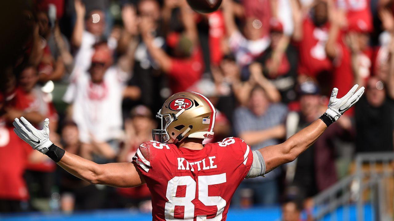 14. San Francisco 49ers - Bildquelle: 2018 Getty Images