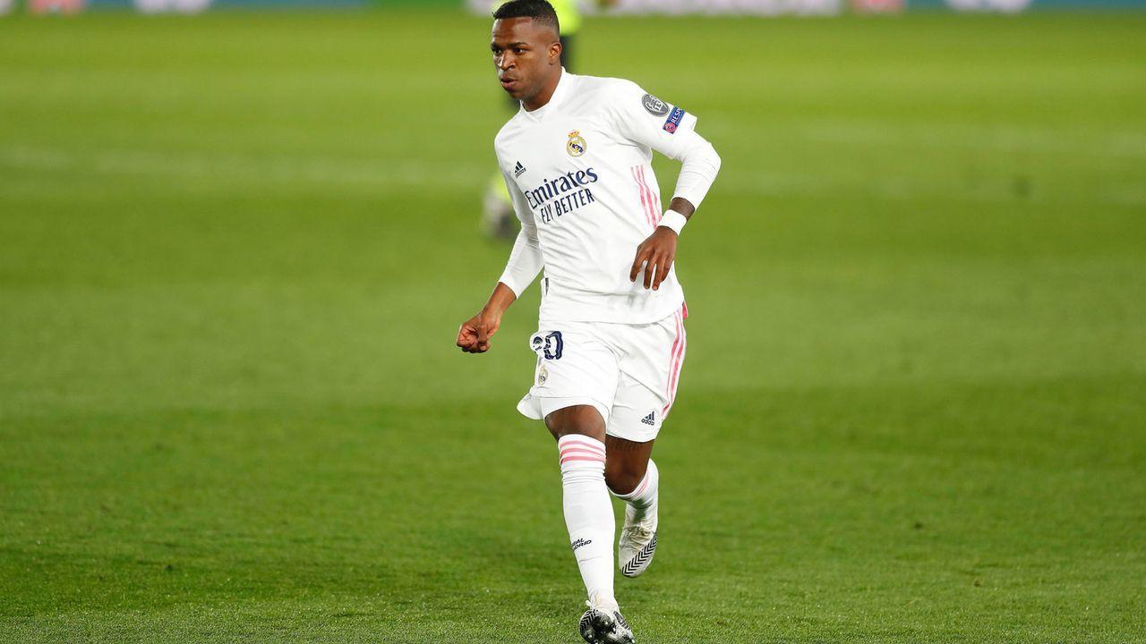Platz 1: Vinicius Junior (18 Jahre/45 Millionen Euro) - Bildquelle: imago images/AFLOSPORT