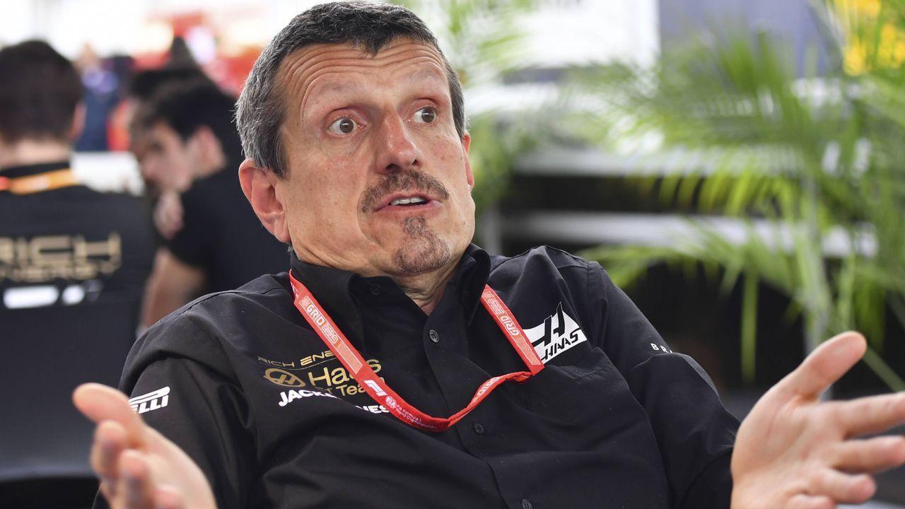 Günther Steiner (Teamchef Haas F1) - Bildquelle: imago images / HochZwei